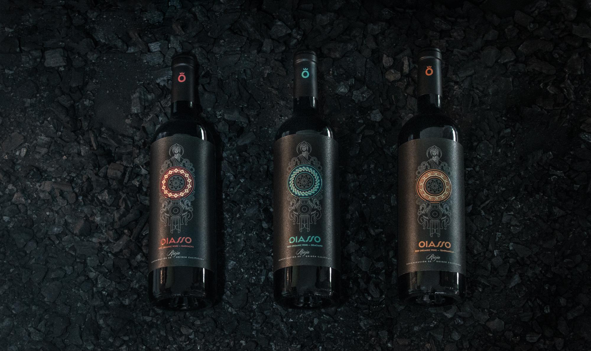 Oiasso, Bagordi, branding, packaging, vino, papelería