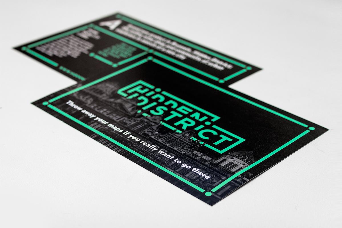 Hidden District, branding, packaging, vino, papelería